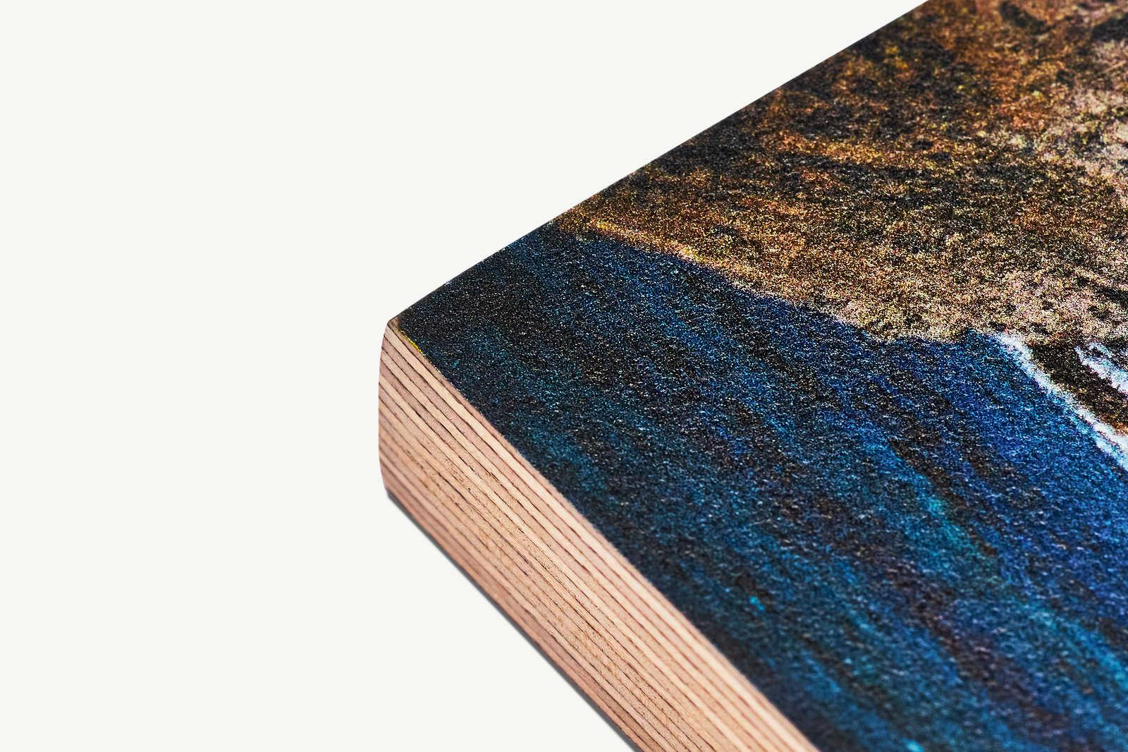 Oberfläche und Kante 21mm Multiplex Birke