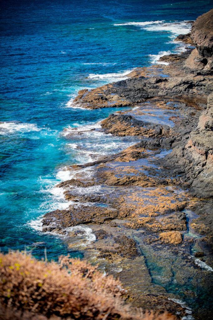 Felsige Küste auf den Kanaren